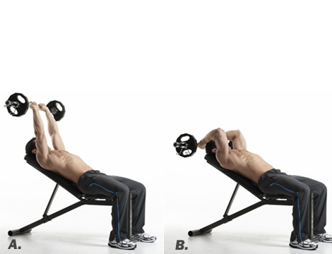 incline tricep extension - photo #23